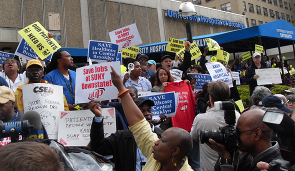 Community Fights for SUNY  Downstate as Cuomo&hellip;