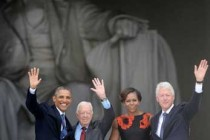 The Dream at 50 Three Presidents Speak at Anniversary of 1963 March