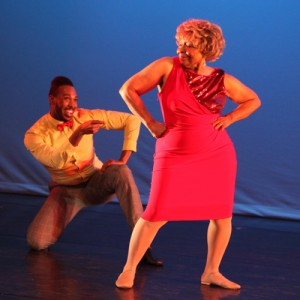 2013 Dance Champion Betty Staton with Jude Evans of Balance Dance Theatre