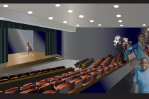 Eubie Blake Auditorium in Von King Park Gets a Makeover
