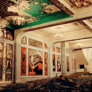 Slave theater interior. Photo: Hiroki Kobayashi