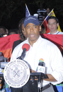 Brooklyn Borough President Eric Adams