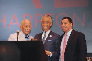 Hon. David Dinkins, Rev. Al Sharpton, Hon. David Paterson