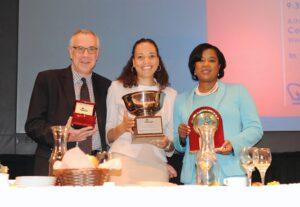 Honorees: John Schreiber, NJPAC; Stephanie Allen of Verizon FIOS, NYPD Asst. Chief Kim Y. Royster;