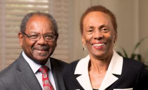 Eddie and Sylvia Brown