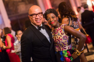 Studio Museum Chair Raymond J. McGuire and Thelma Golden, Director and Chief Curator of The Studio Museum