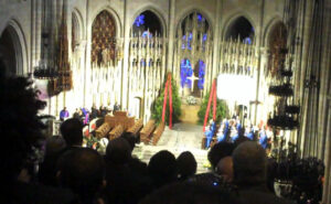 Riverside Church filled for services of Percy Ellis Sutton.