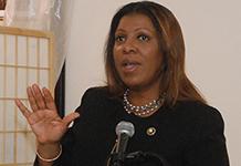 Public Advocate Letitia James
