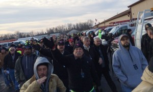 More than 300 union plumbers from cities across Michigan came to Flint recently to volunteer to replace faucets and filters