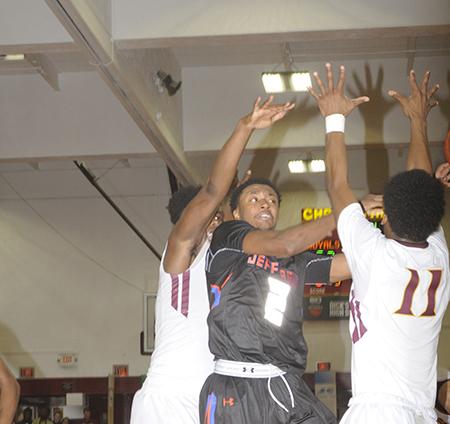Thomas Jefferson H. S. Boys Varsity Basketball #1-Ranked Team Continues Winning Ways