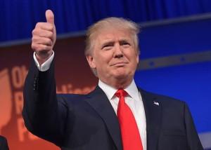 Republican Donald Trump