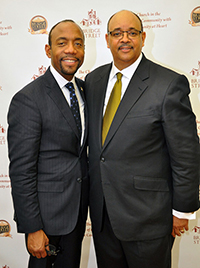 The Rev. Dr. Cornell William Brooks, National President & CEO, NAACP, and The Rev. David B. Cousin, Sr., pastor, Bridge Street