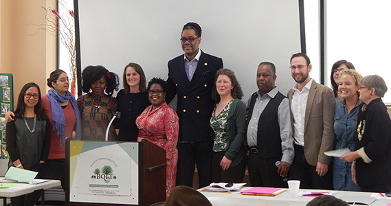 Bed-Stuy Residents Dorothy and Demetrice Mills's Give $50,000 to Brooklyn Queens Land Trust