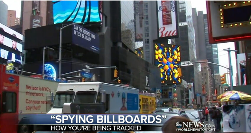 New Billboards to Collect Data from your Cell Phone