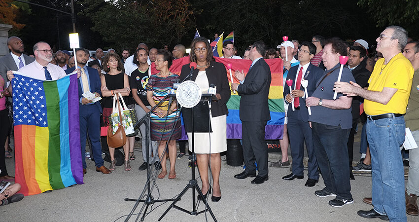 PA James Hosts Unity Vigil for Victims of Orlando Massacre, Calls for Stricter Gun Control Laws