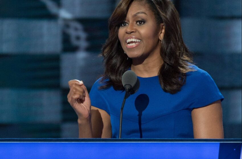 Michelle Obama Address to Democratic National Convention July 25, 2016