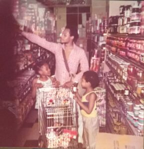 The same day at the grocery store for Daddy Is A Monster Sometimes May 1977
