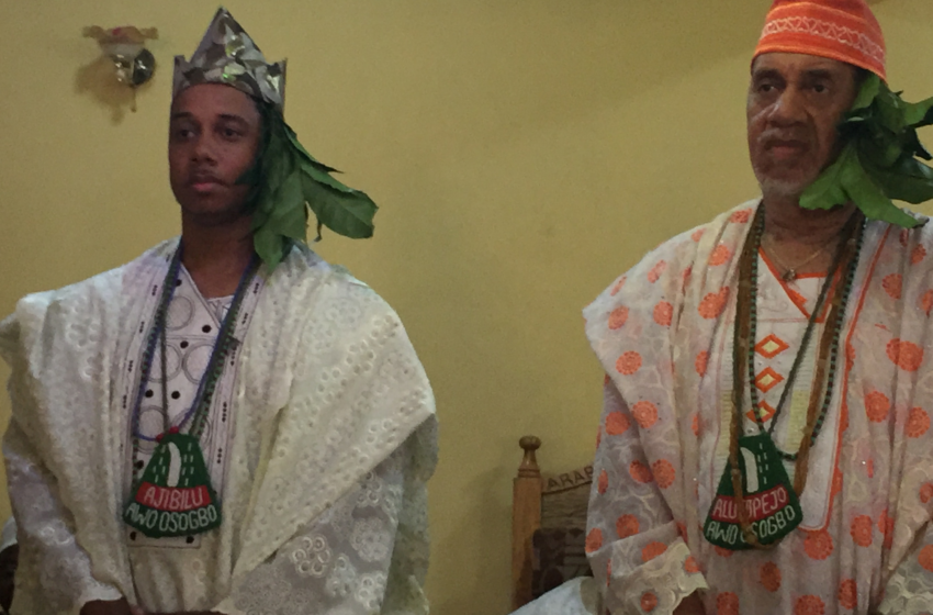 Father and Son Installed as Chiefs in Nigeria