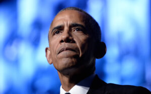 President Barack Obama speaks to the Congressional Black Caucus Foundation's 46th Annual Legislative Conference Phoenix Awards Dinner at the Washington Convention Center. Credit: Olivier Douliery / Pool via CNP (Credit Image: © Olivier Douliery/CNP via ZUMA Wire)