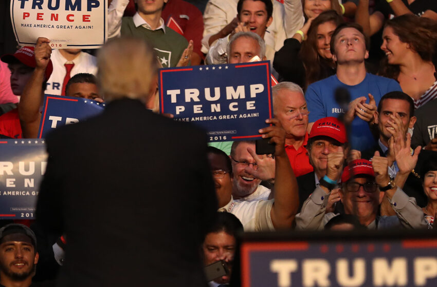 This is how tyranny begins: Why will President Donald Trump continue to hold rallies?