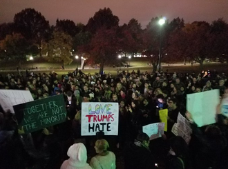 Nationwide Protests Erupt – Citizens chant #notmypresident