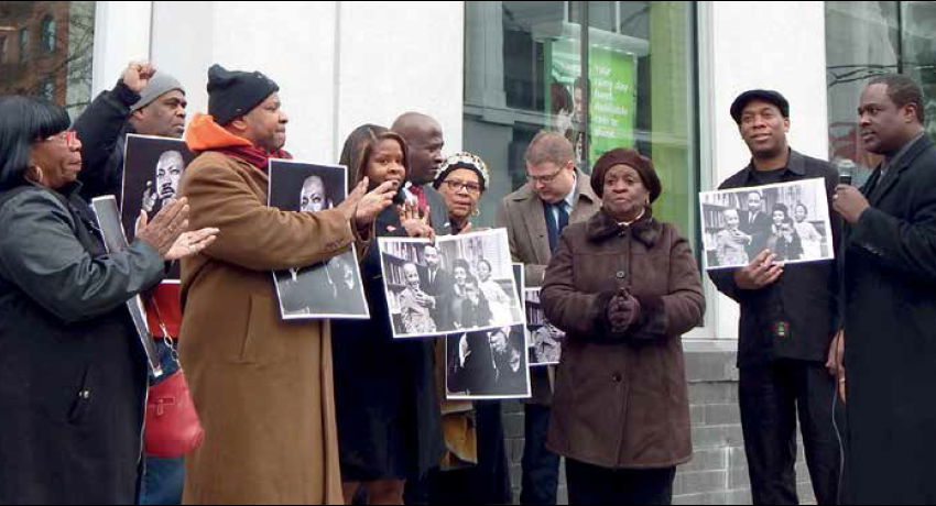 """Local Activists Cause TD Bank to be Closed on Martin Luther King, Jr. Day """"From Maine to Florida"""""""