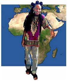 Black History Month:  Dashikis and Dreadlocks