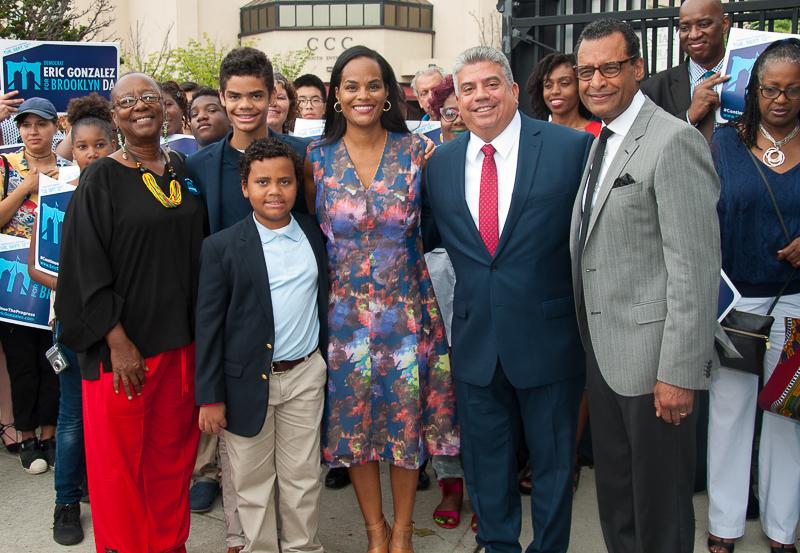 Brooklyn District Attorney Eric Gonzalez Receives the Rev. A. R. Bernard and Social Justice Leader Bertha Lewis Endorsements