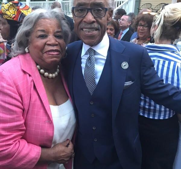 Tubman, Sharpton and National Action Network