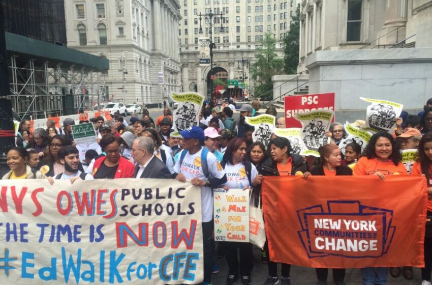 The Fight for Fair Funding  for Schools in NYS Continues