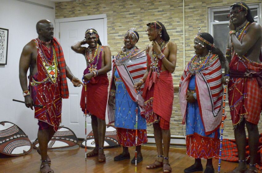 When the Maasai Comes to Town