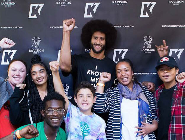 Colin Kaepernick,  Our Time Press  Man of the Year