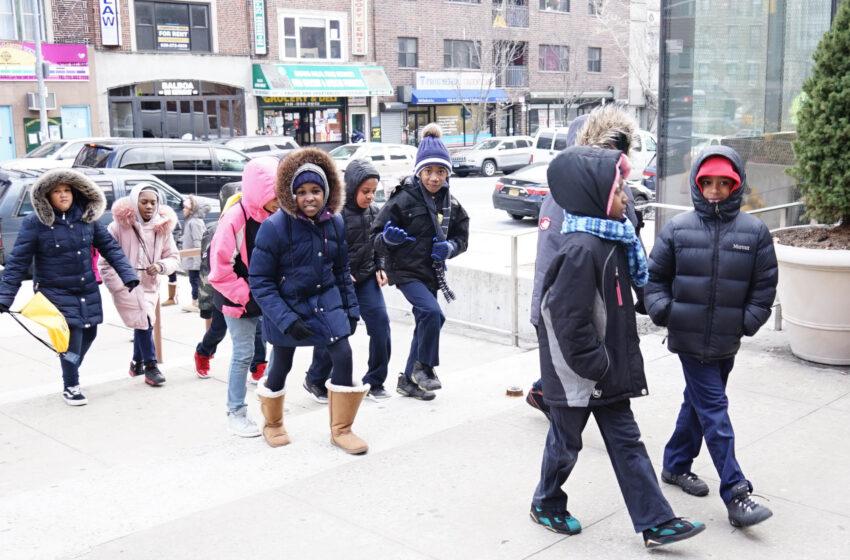 BED-STUY GRADE SCHOOL KIDS HEAD OFF TO COLLEGE