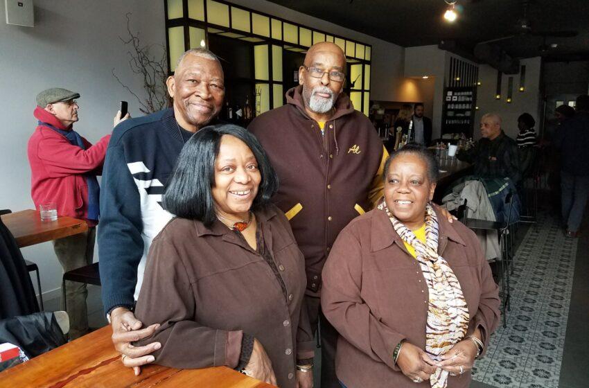 STUYVESANT HEIGHTS ELDERS SALUTE CLARA WALKER  Restaurateur Honored at Former Establishment