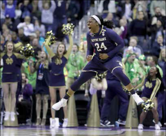 ARIKE AIR: Notre Dame Junior Ends 17 Years of NCAA Women's Championship Losses with a Buzzer-Beater