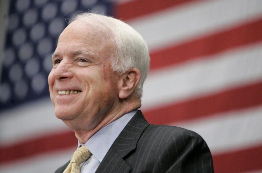 Sen. John McCain's farewell statement: