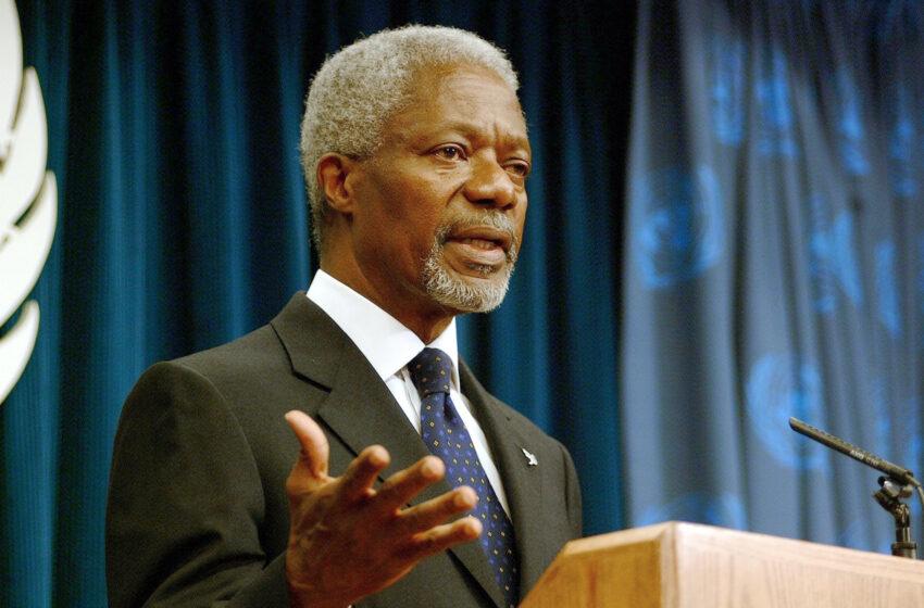 Kofi Annan: A Model Statesman for the World