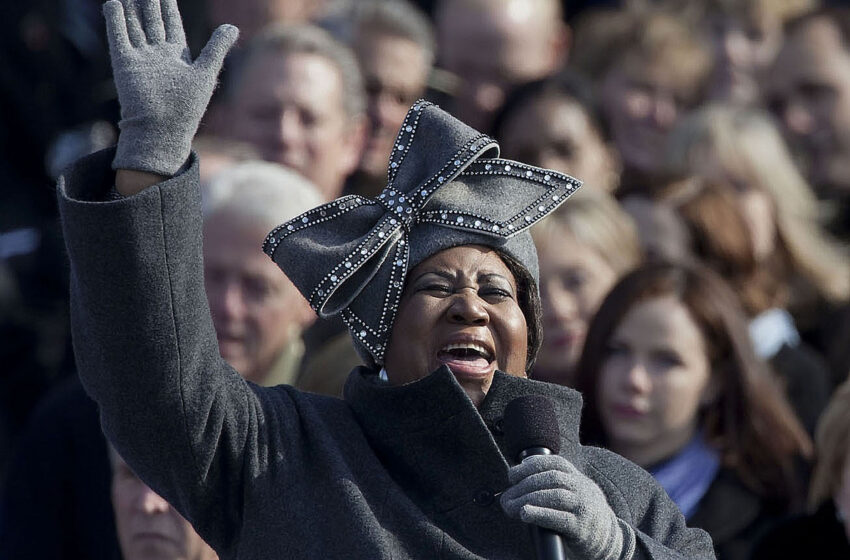 ALL HAIL THE QUEEN OF SOUL!!