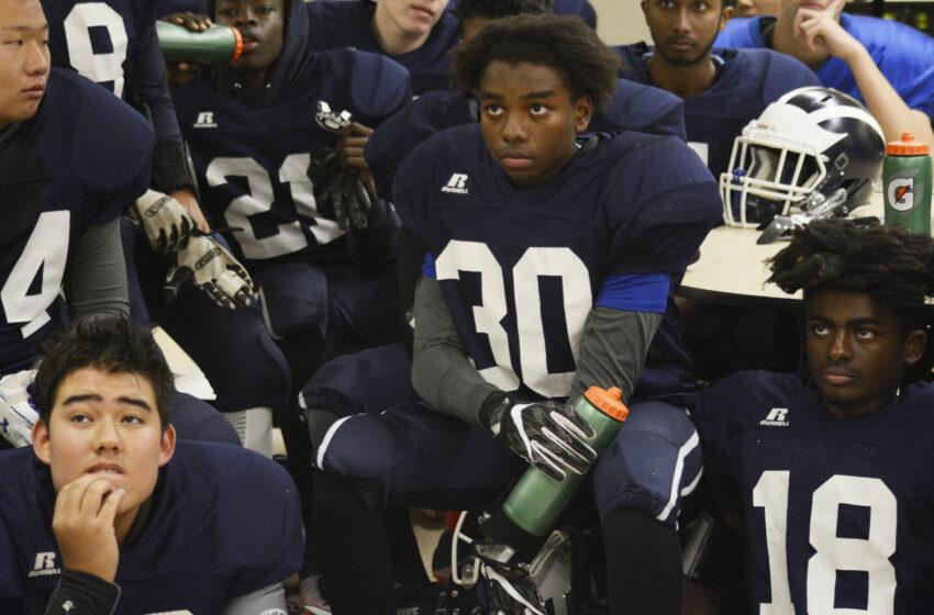 Boys Junior Varsity Football 11/11/2018