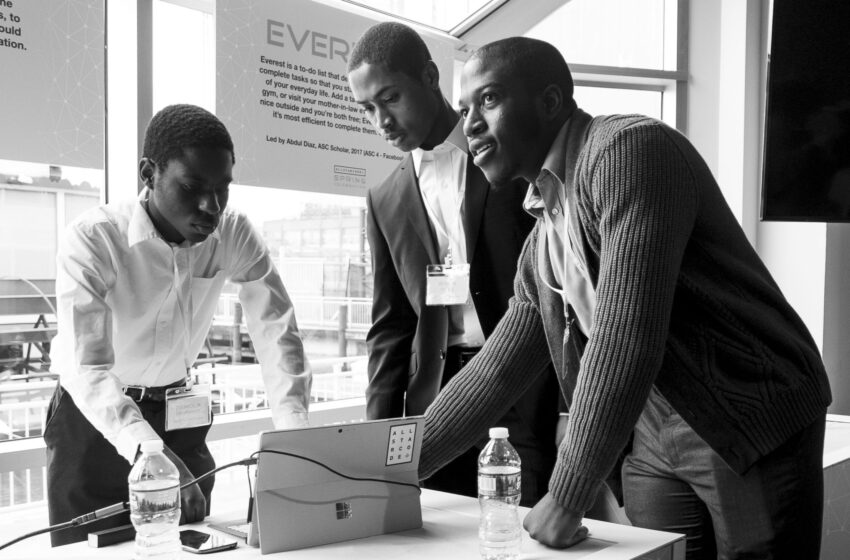 """Lewis Legacy Women, Architects of """"All-Star Code,""""  Building Opportunities for Young Men of Color  Seeking Tech-Business Careers"""