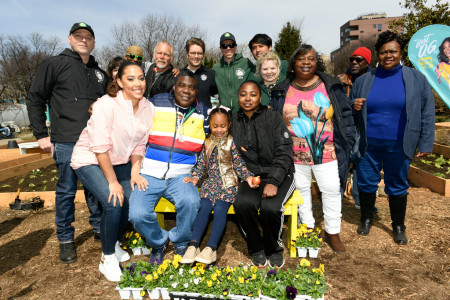 Tracy Morgan, The Hattie Carthan Garden and Saving the Best Part