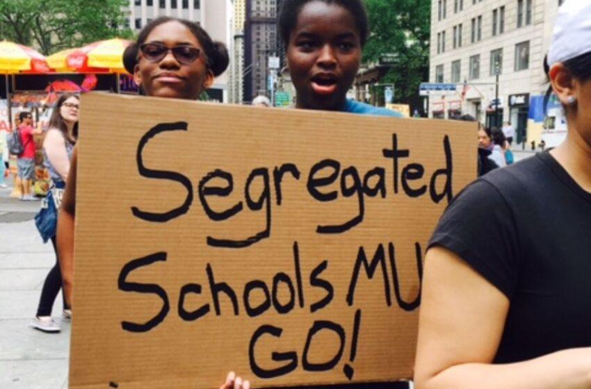 Segregated Schools, No Test Required