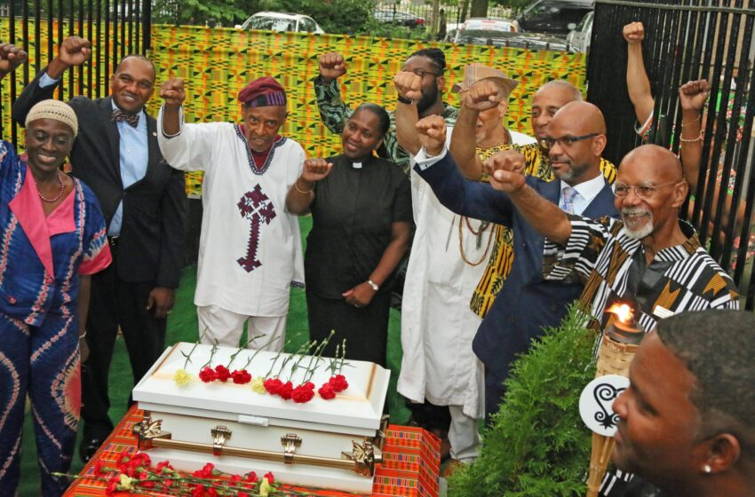 African Burial Ground Dedicated in East New York
