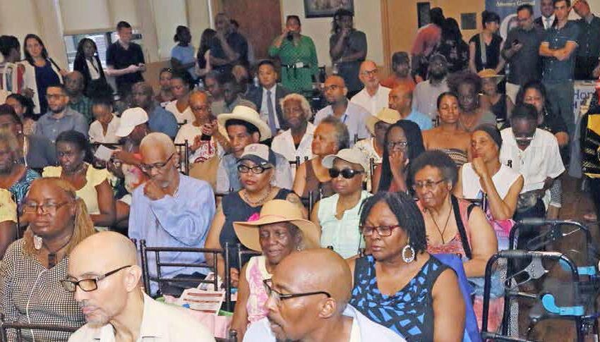Fight on the Homefront Grows: Tish Town Hall on Real Estate Fraud, Deed Theft Packed