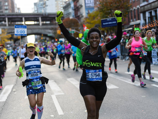 The New York Marathon