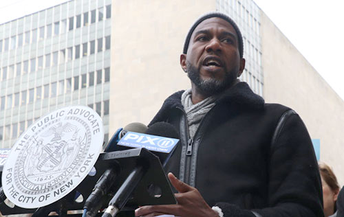 Public Advocate Jumanne Williams seeks to protect the new bail reforms.
