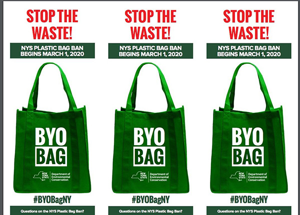 Single-Use Plastic Bags are Banned After March 1st