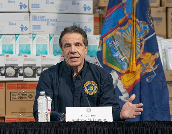 NYC Death Toll Spikes 110% in 36 Hours; Cuomo Blasts 'Terrible' Fed Plan as Cases Soar to 32K