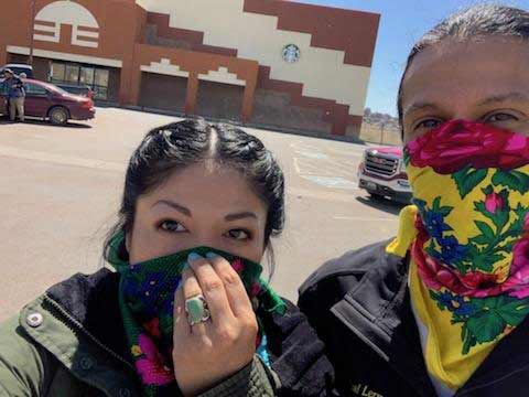 As Covid-19 Tears Through Navajo Nation, Young People Step up to Protect their Elders