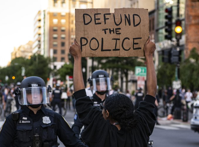 """Words We Thought We'd Never Hear, """"Defund The Police"""""""